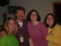 Emily Becker, Don Winslow (District Rep.), Jen Champlin (MS/HS Building Rep.), Rebecca DeNeef